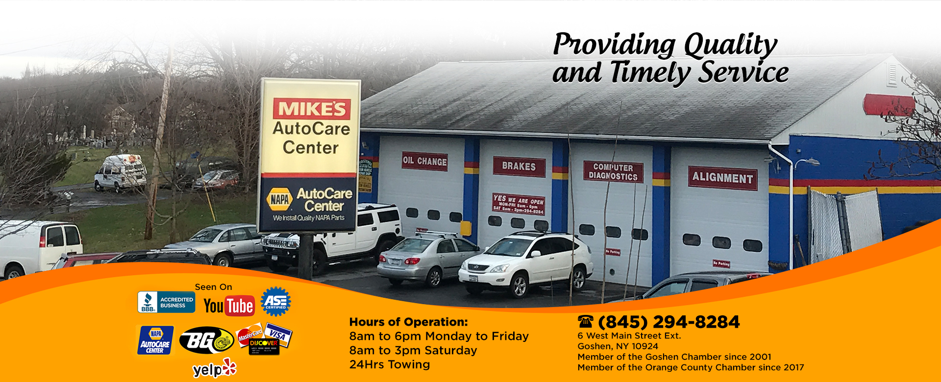 Mikes Auto Care Automotive Repair Used Car Sales At Electronics Center Inc We Specialize In Industrial Main Image